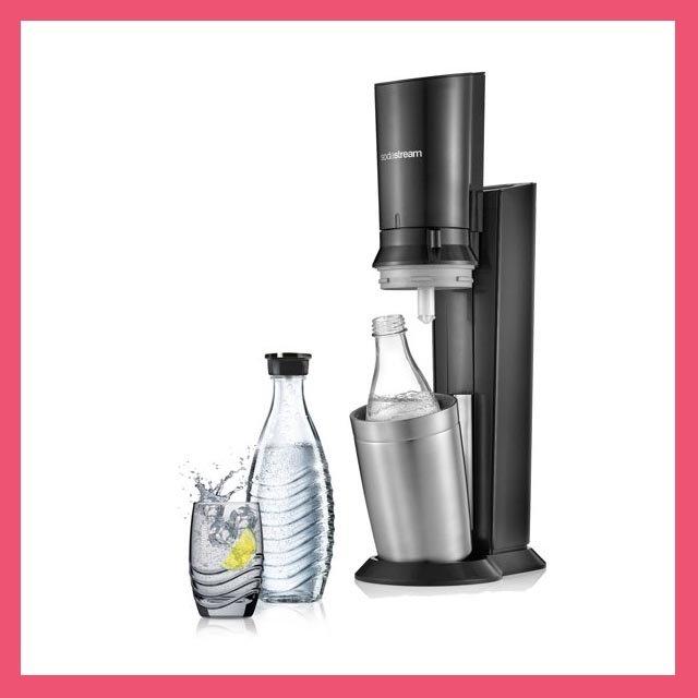 Sodastream Crystal + bouteille en verre