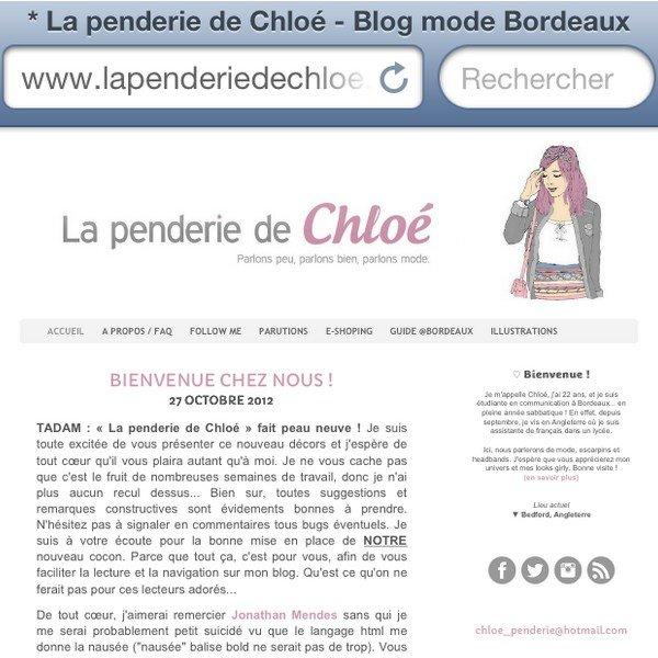 meanwhile on my iphone 10 blog mode la penderie de chloe. Black Bedroom Furniture Sets. Home Design Ideas