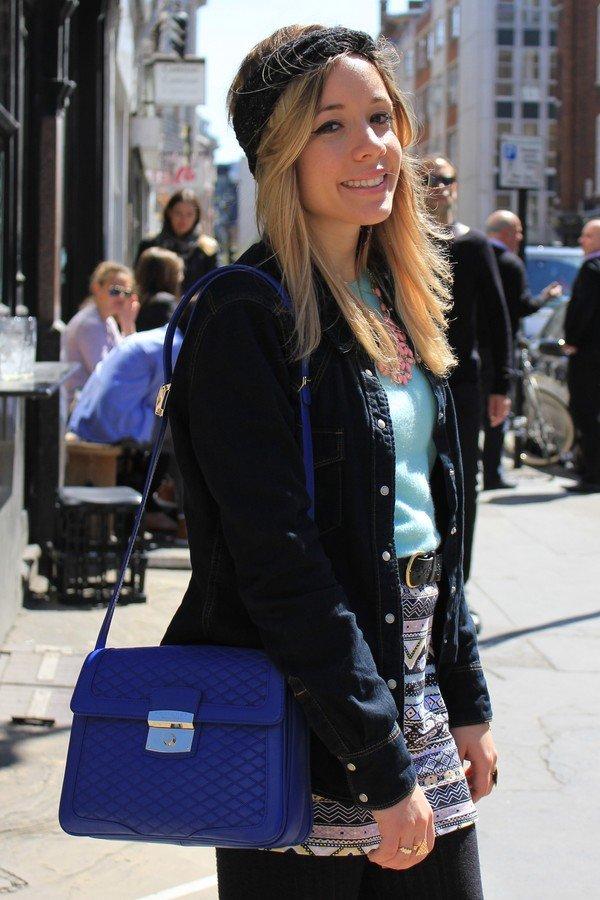 Blogueuse femme tendance