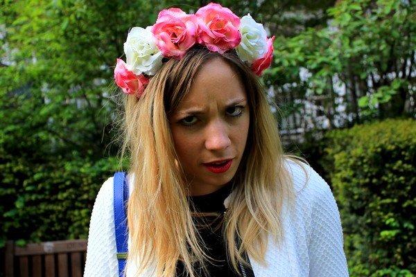 Couronne Headband fleurs