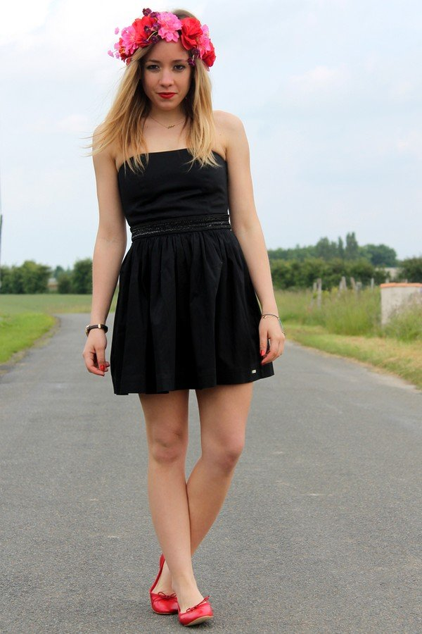 Robe bustier Superdry