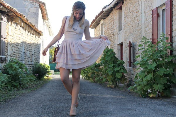 Robe princesse chic volants