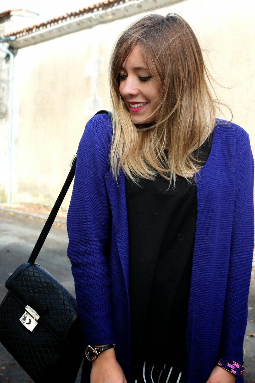 sac pouchet noir