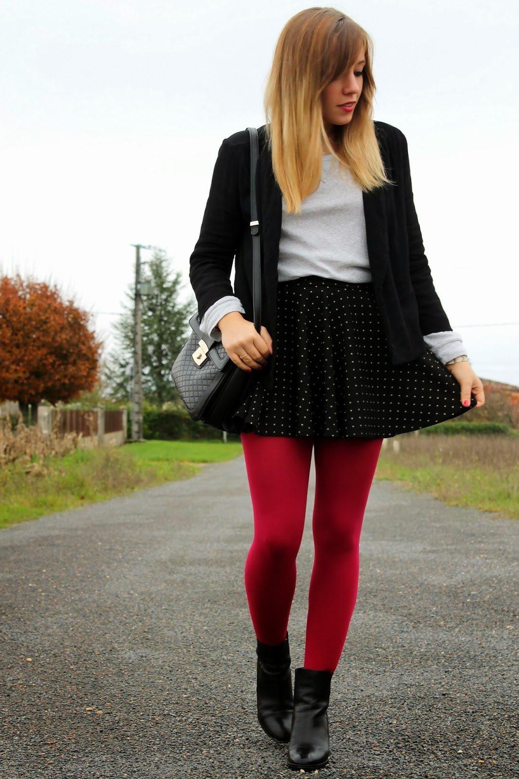Collants hiver couleurs