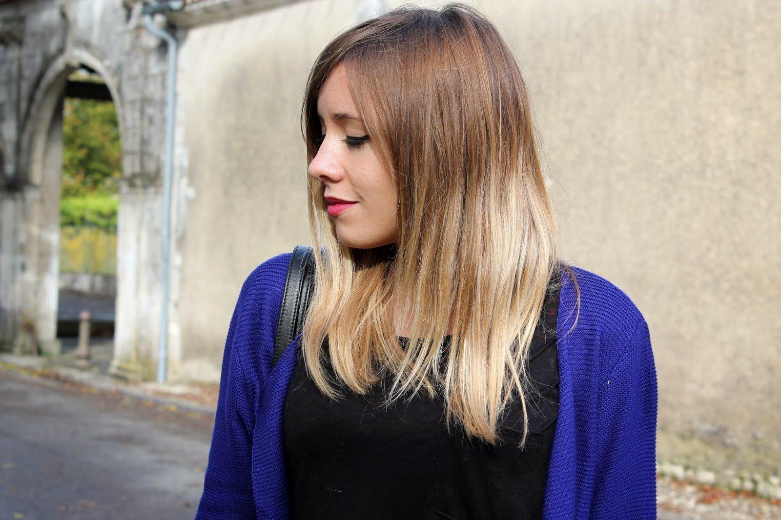 tie dye blond