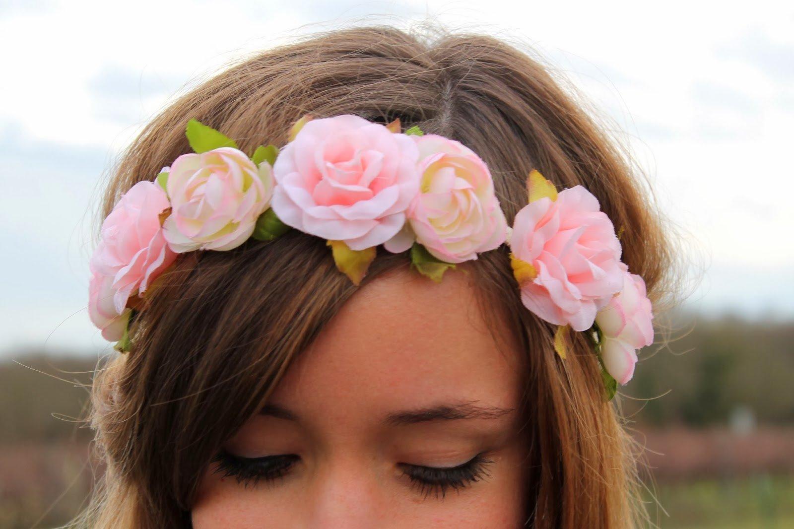 Shaman blog mode la penderie de chloe for Couronne de fleurs