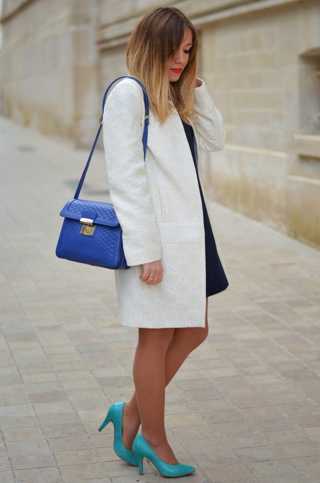 manteau printemps blanc