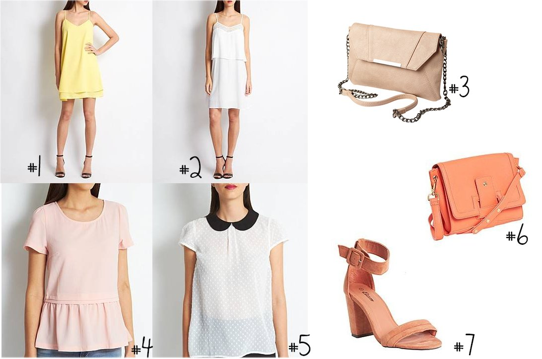 sélection shopping vêtement été