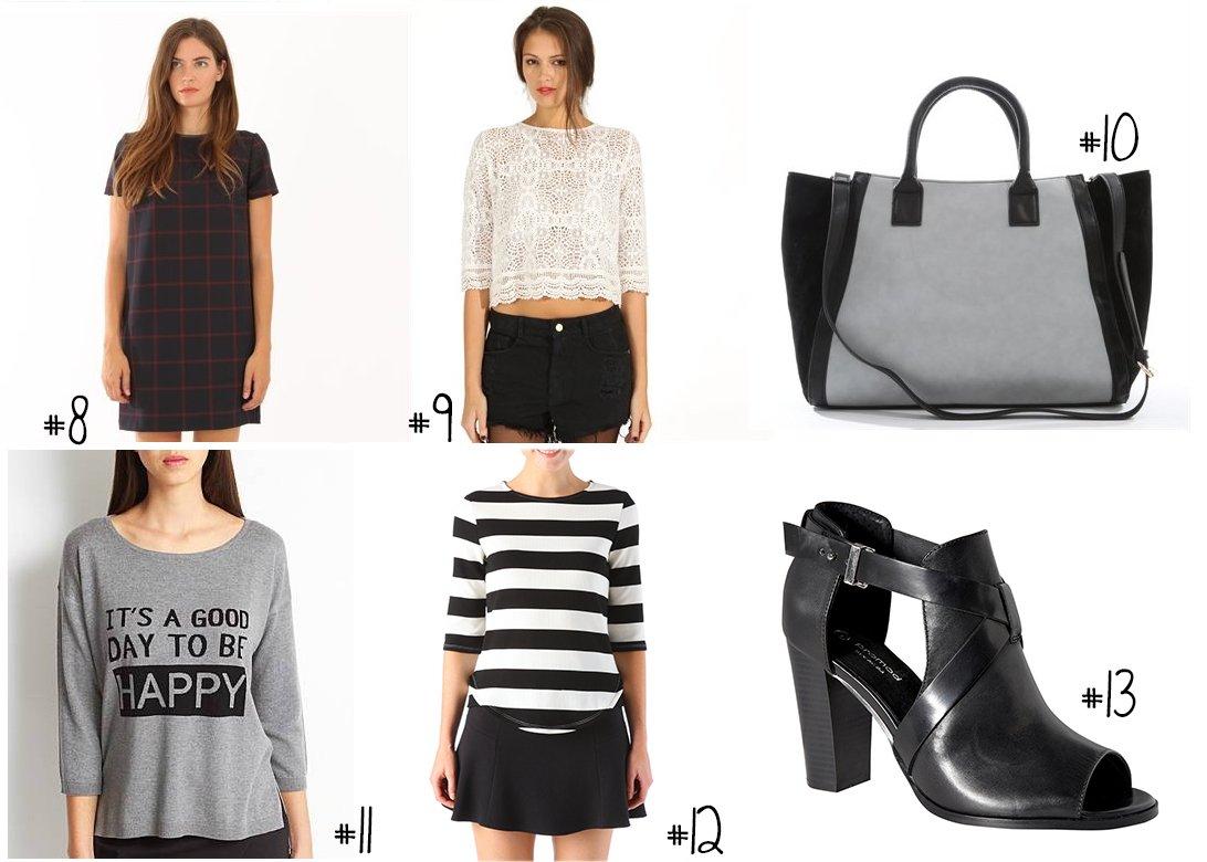 sélection shopping vêtement automne