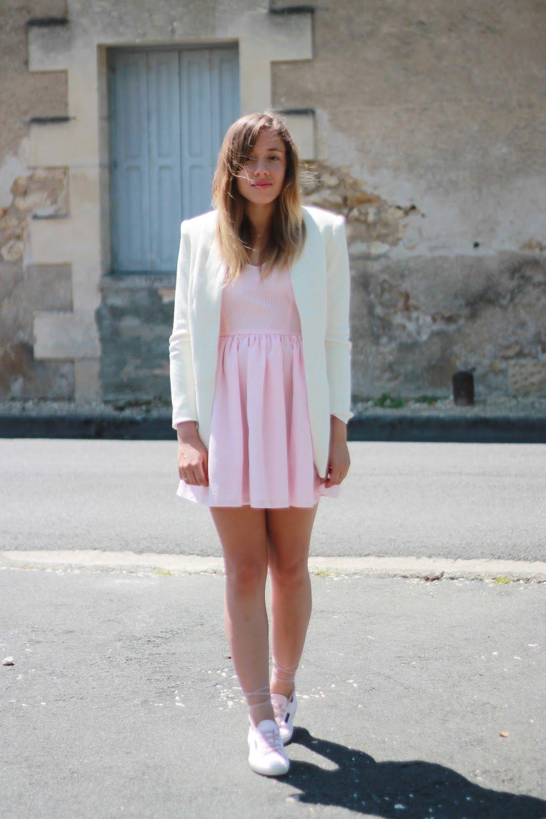blazer blanc