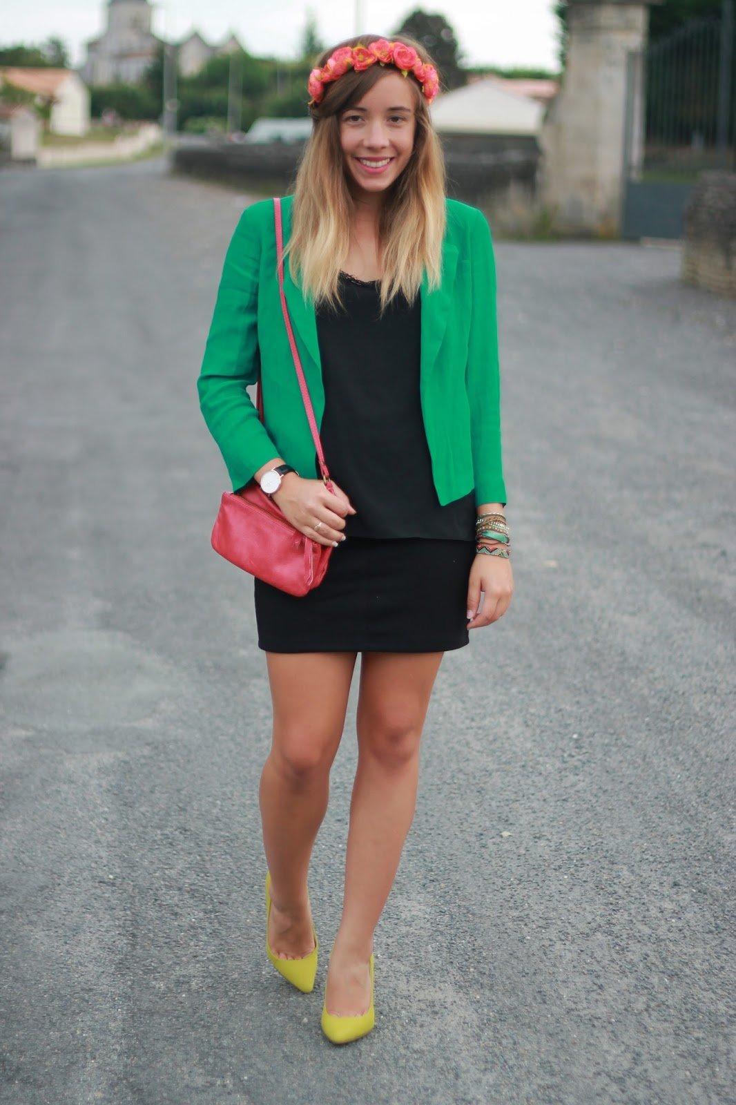 Comment porter une jupe noire