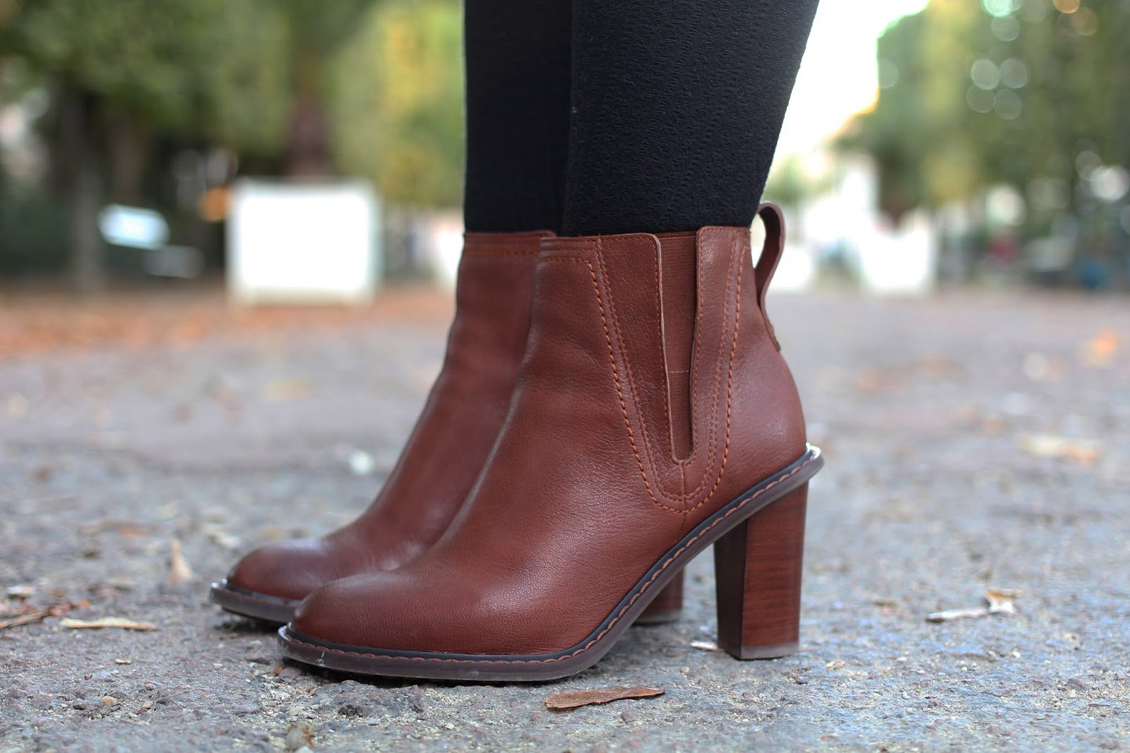 Bottines marrons Clarks