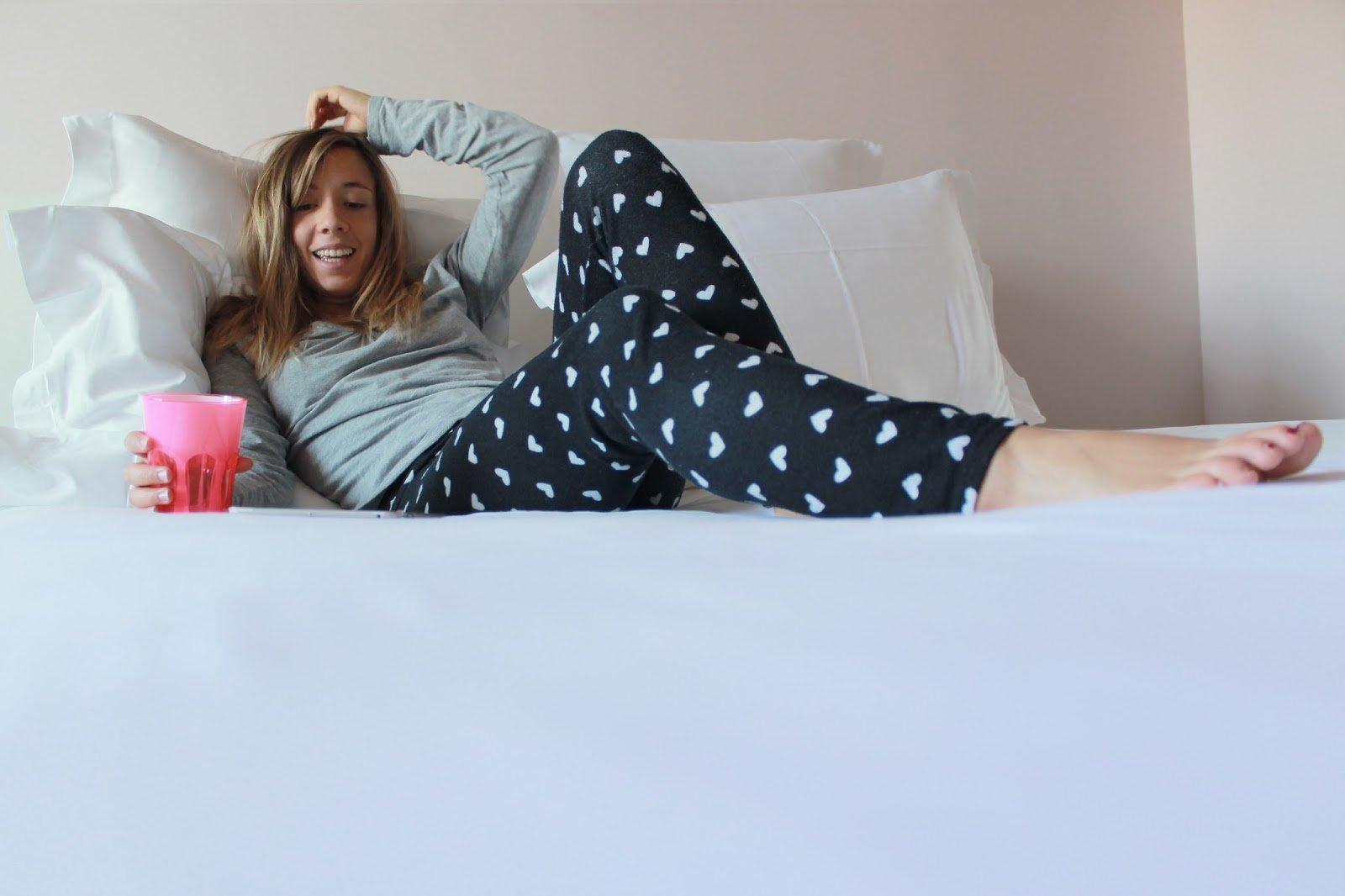 Pantalon pyjama coeurs
