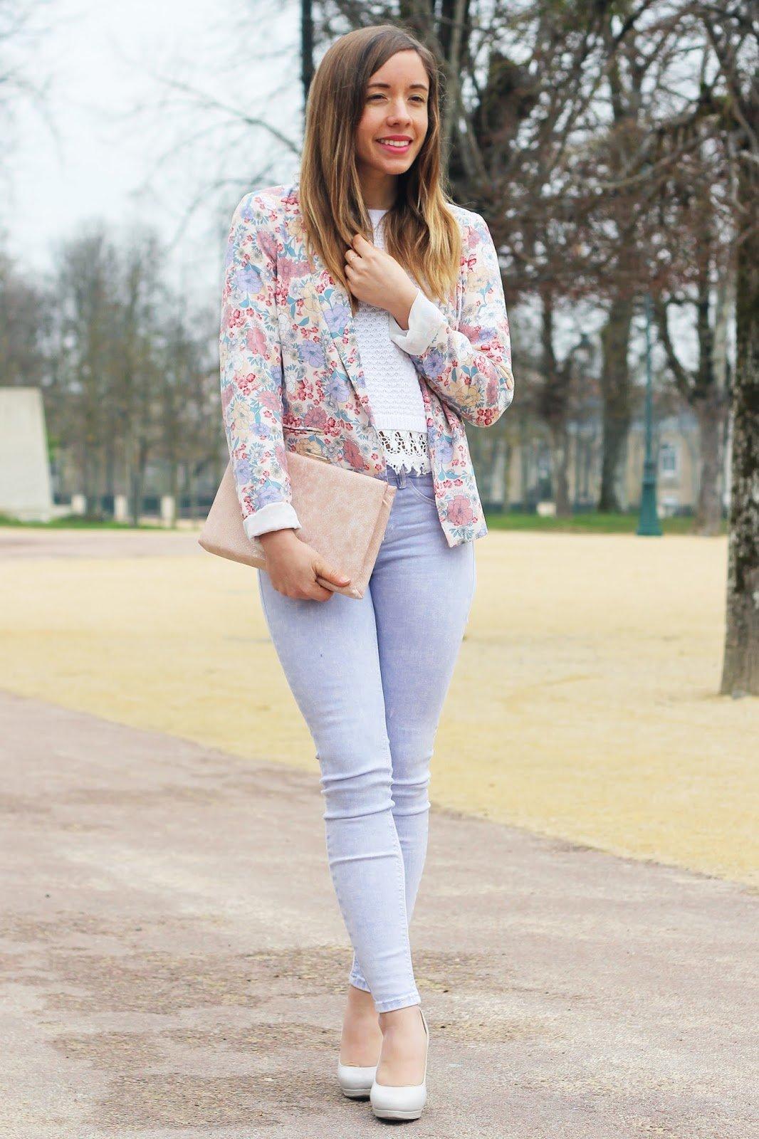 Pastel + fleurs = coeur - Blog mode
