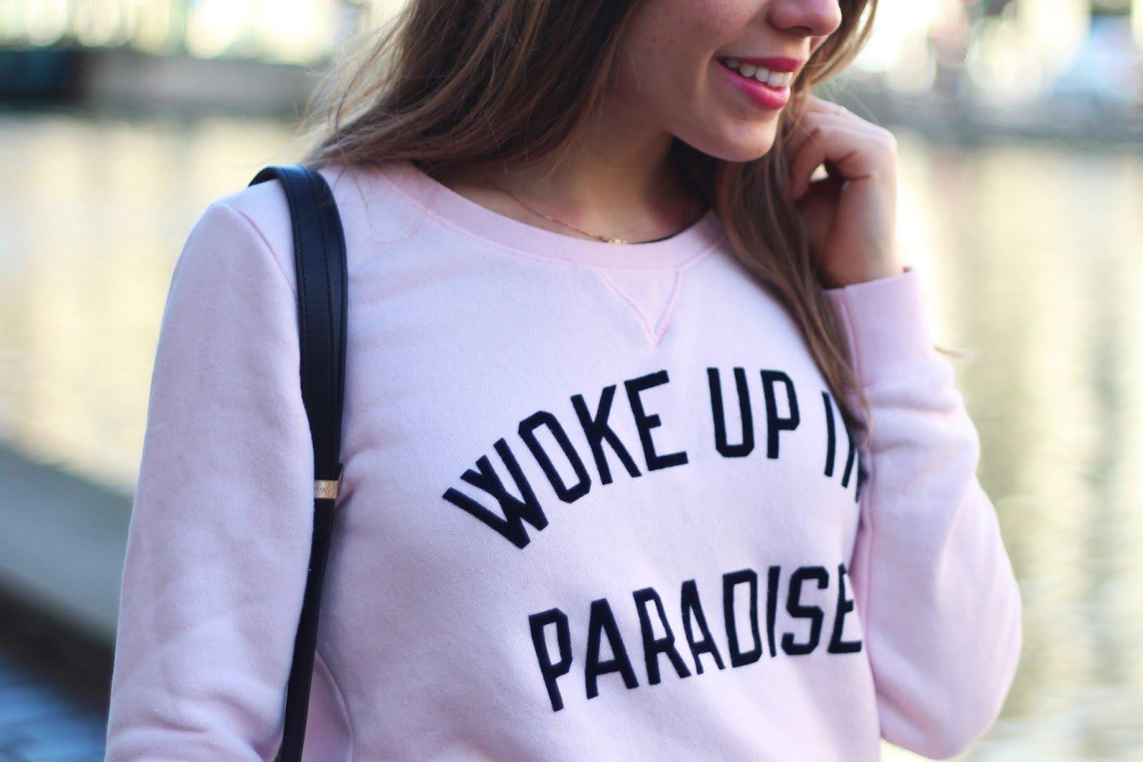 Woke up in paradise