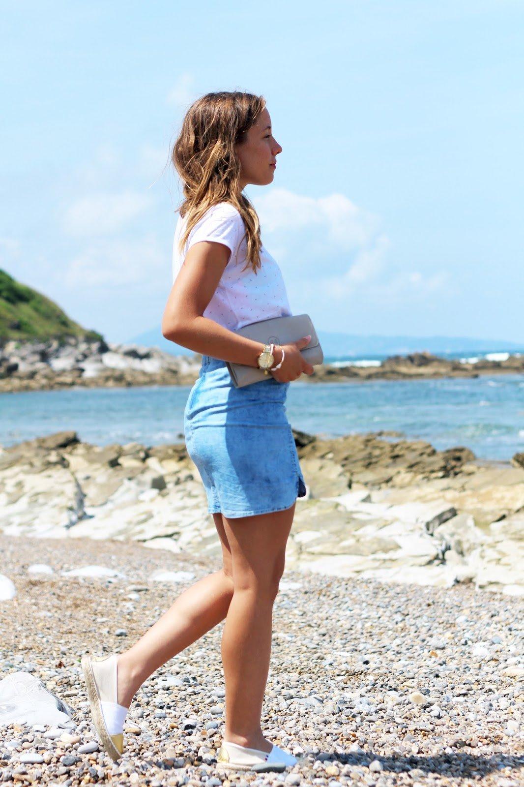 Tenue de plage côte basque