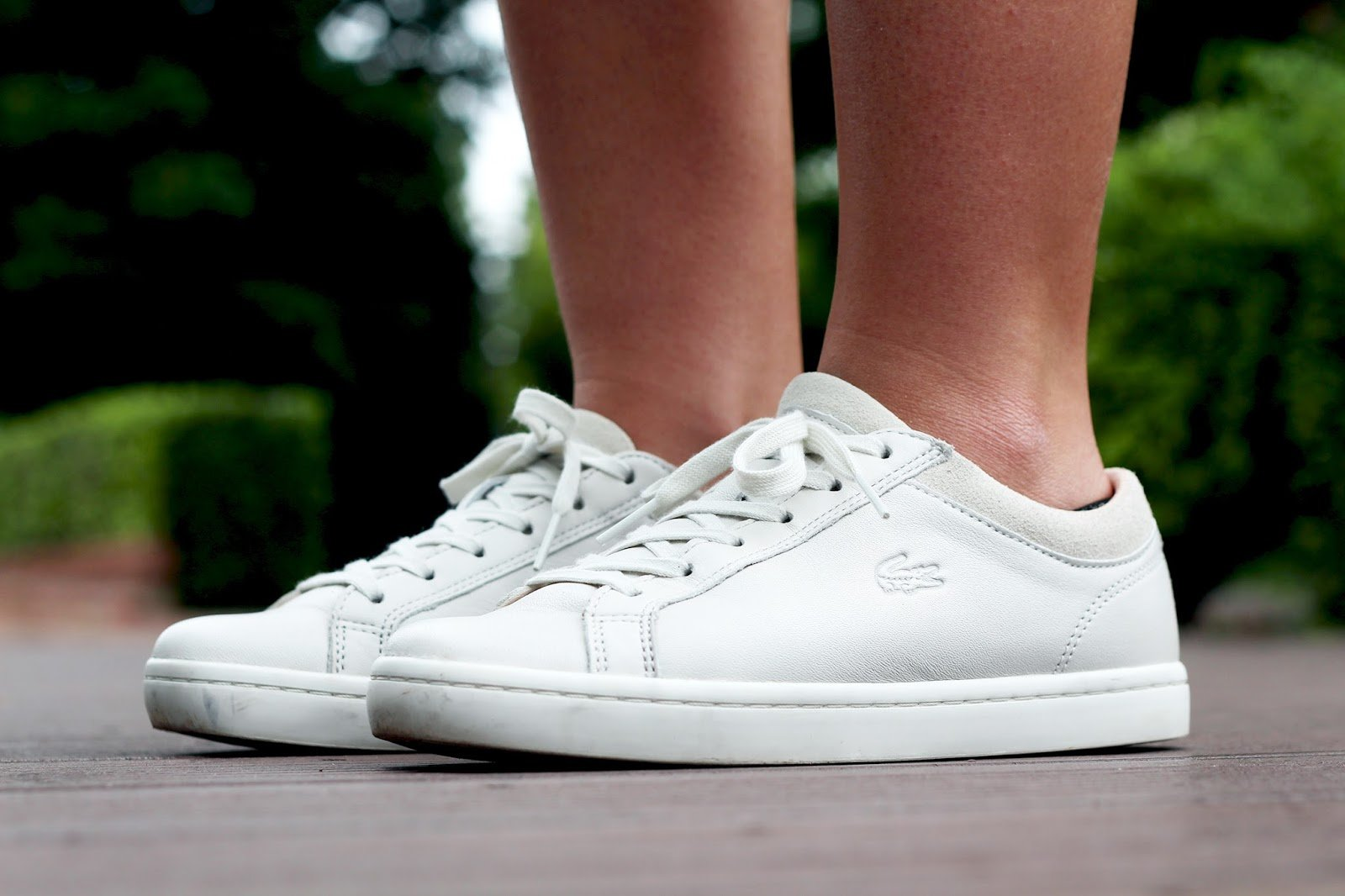 Lacoste Chaussures Sneakers Blanches