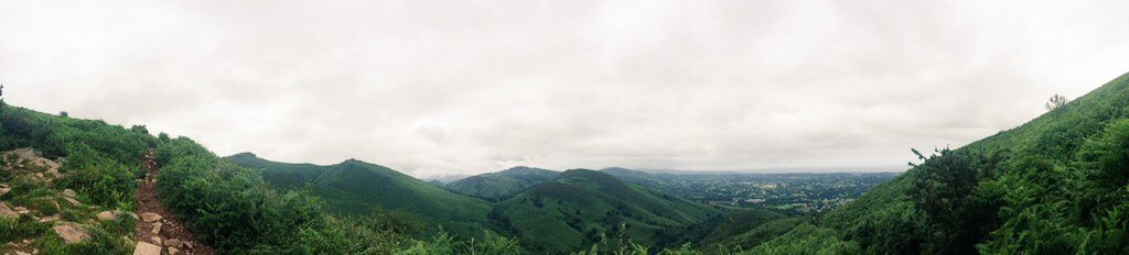Panorama Pays Basque La Rhune