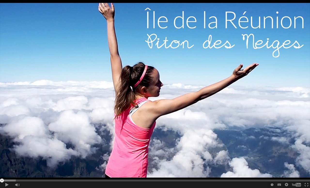 Vidéo YouTube Piton des Neiges