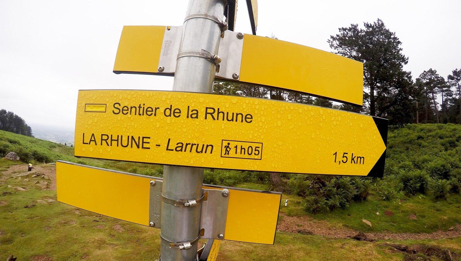 Pays Basque La Rhune Randonnée