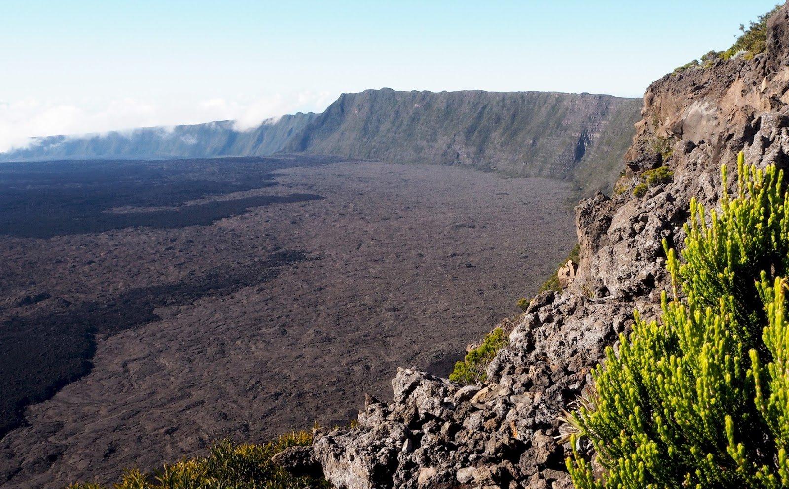 La Réunion volcan de la Fournaise