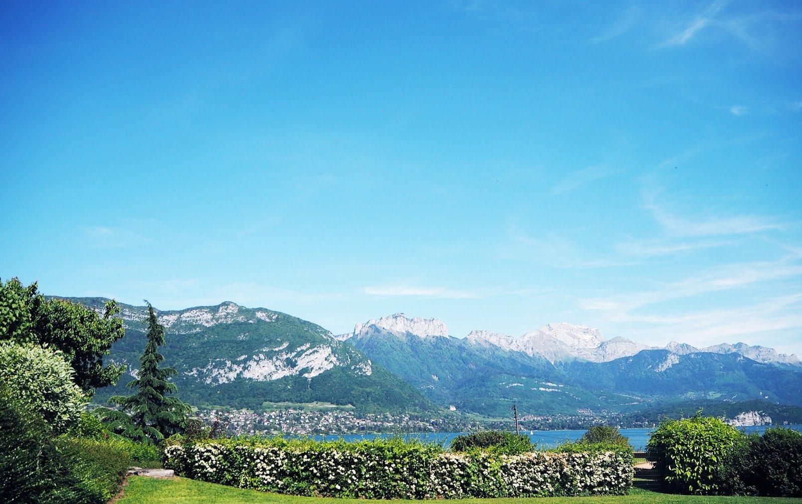 Lac Annecy printemps