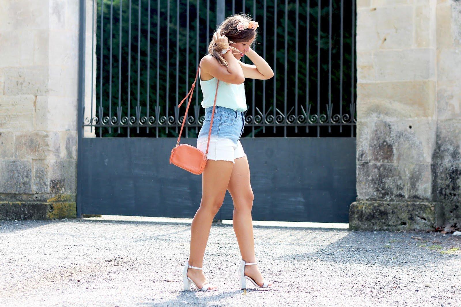 Blog mode tenue été couleurs pastel