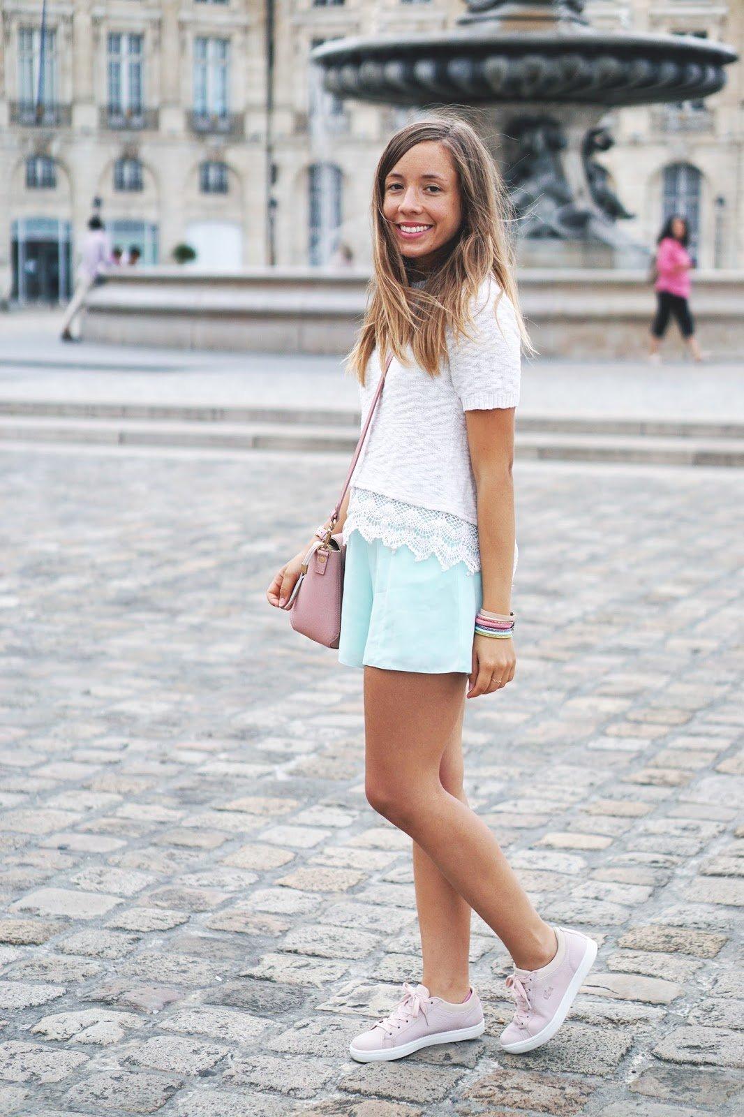 Blog mode tenue de rentrée couleur pastel