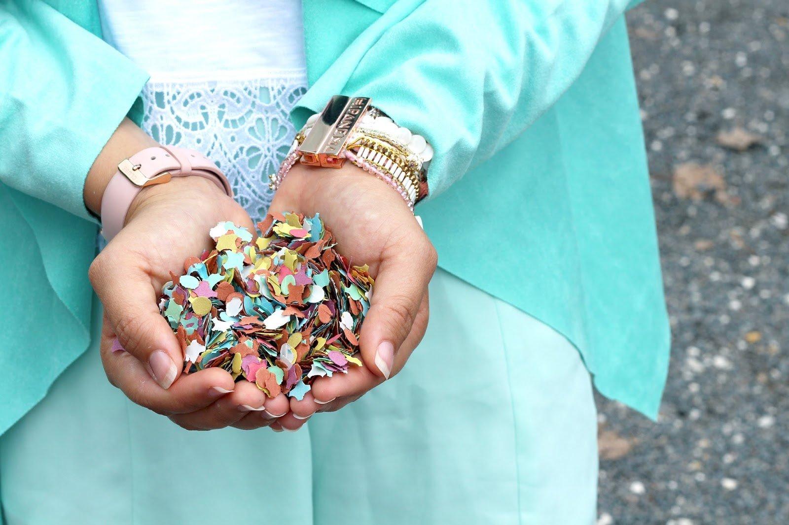 Confettis paquet gifi