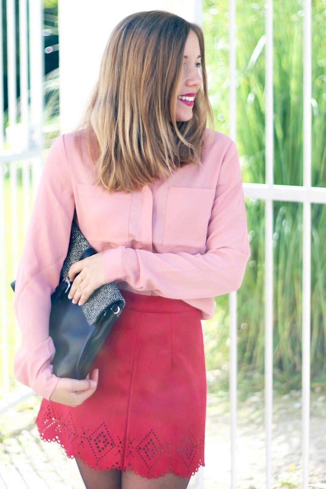 tenue du jour blog mode bordeaux