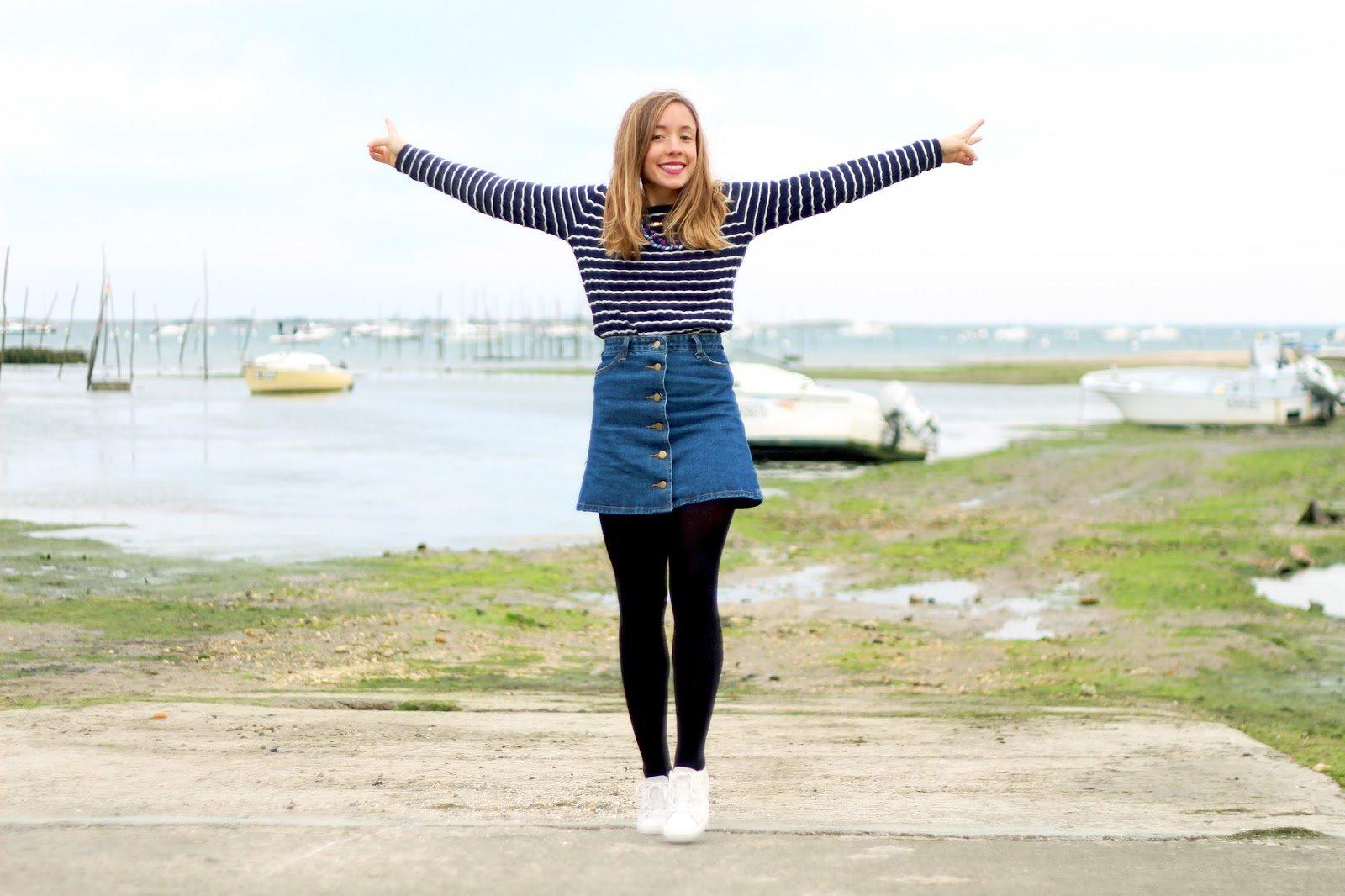 Blog mode cap ferret jupe jean