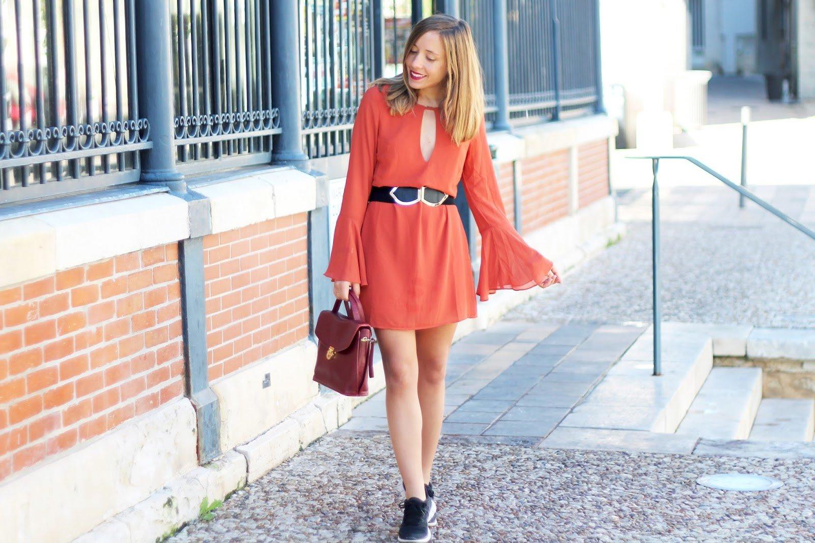 Blog mode robe rouille