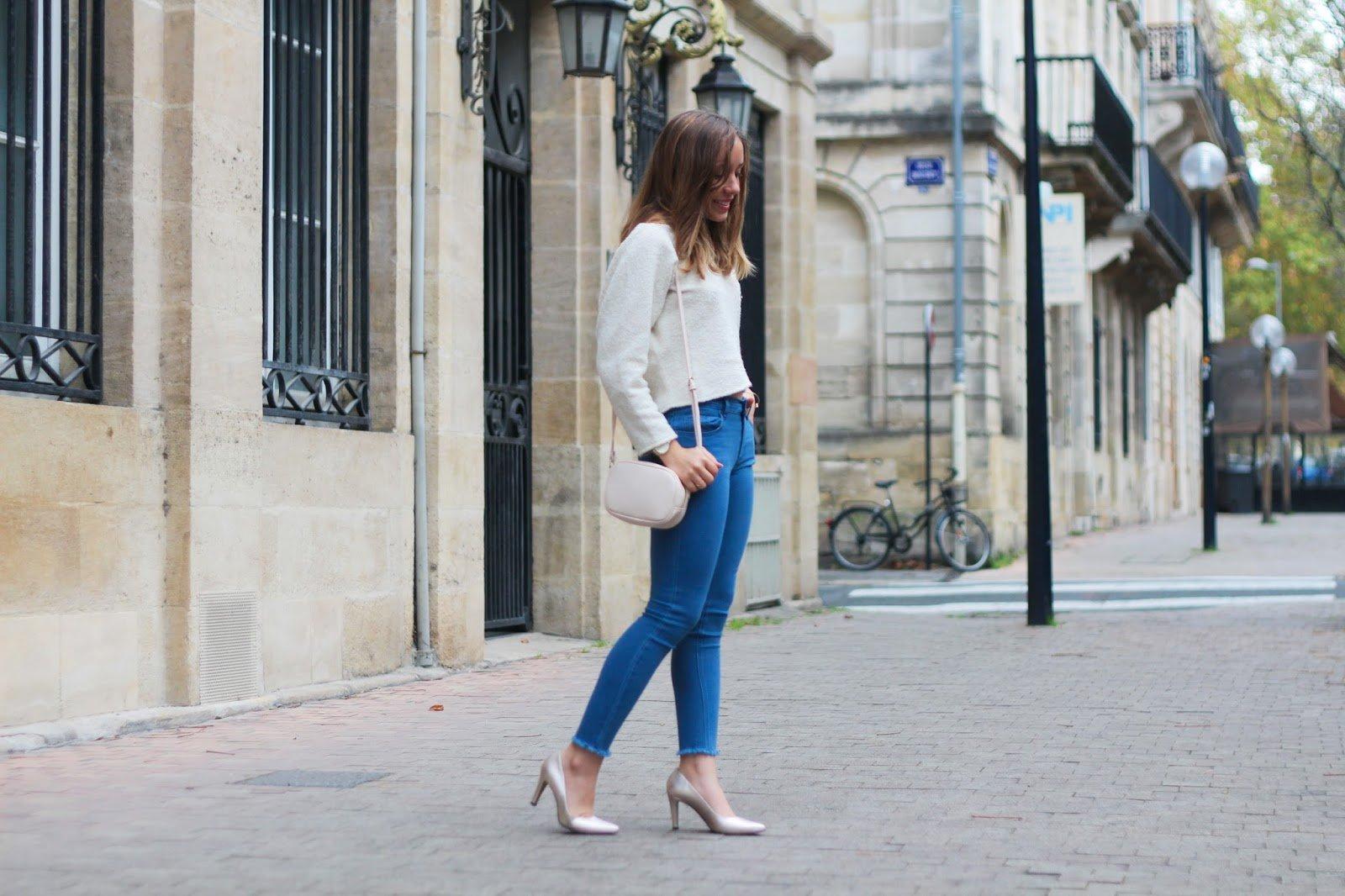 Escarpins jean tenue
