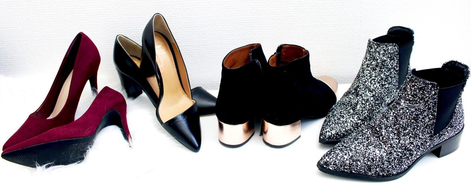 chaussures de soirée blog mode