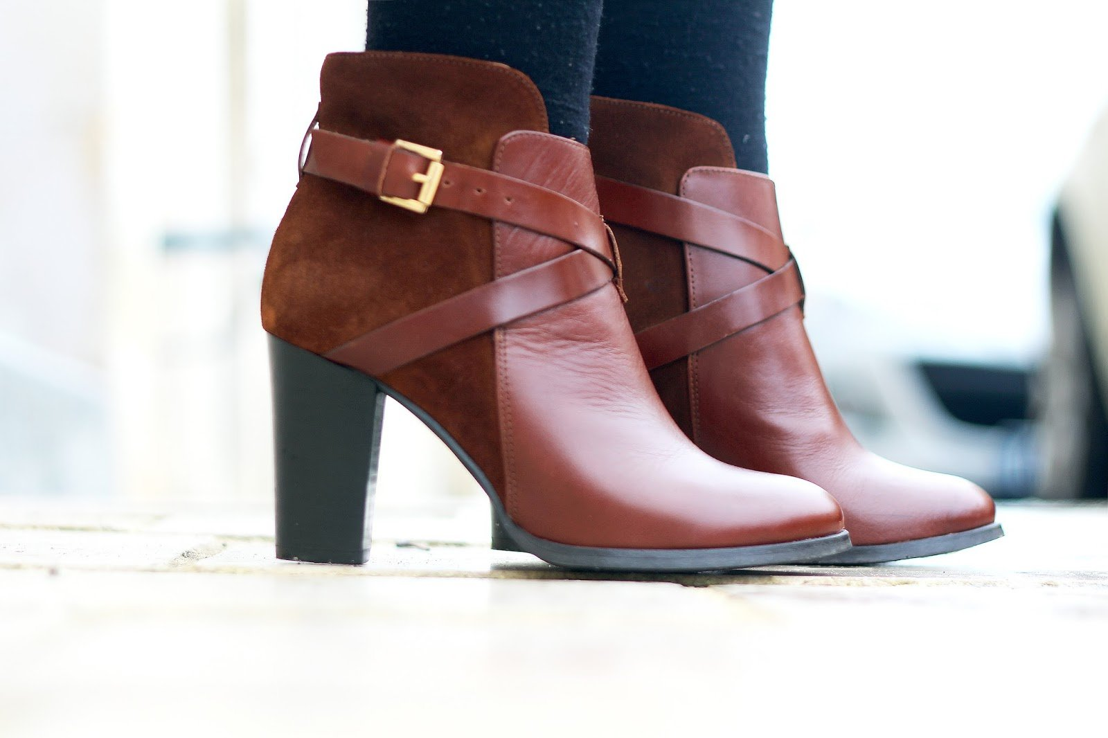 Bottines marrons Jonak