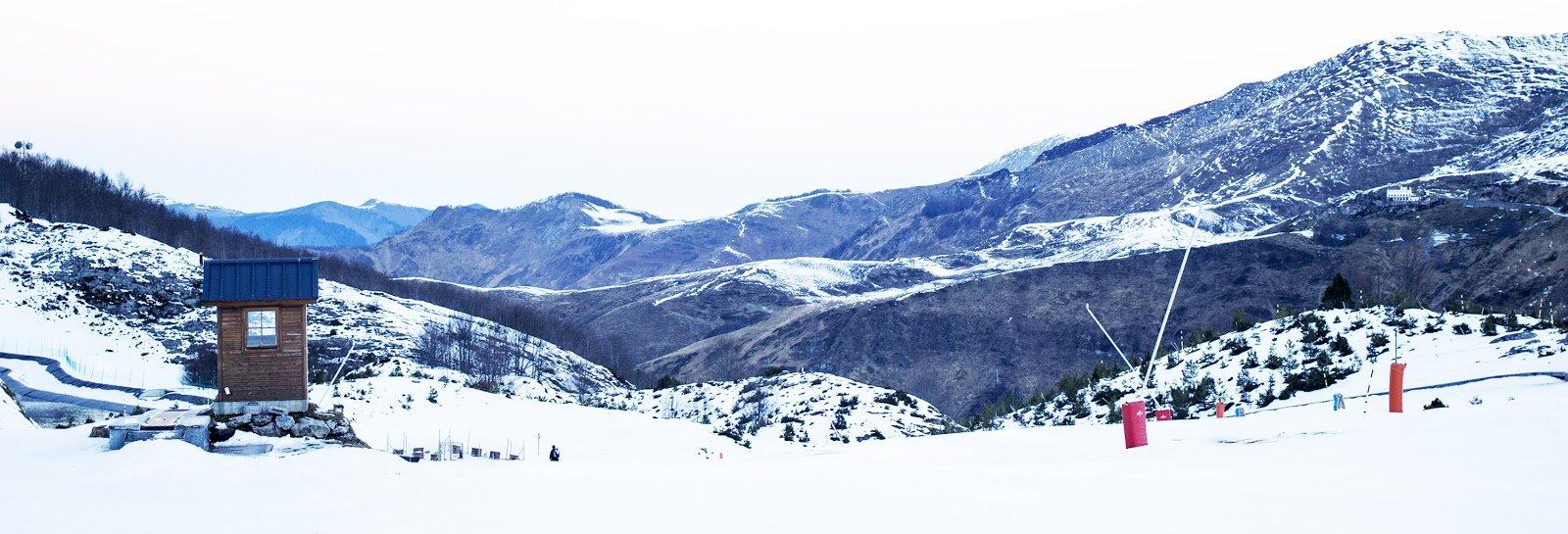 Gourette station ski
