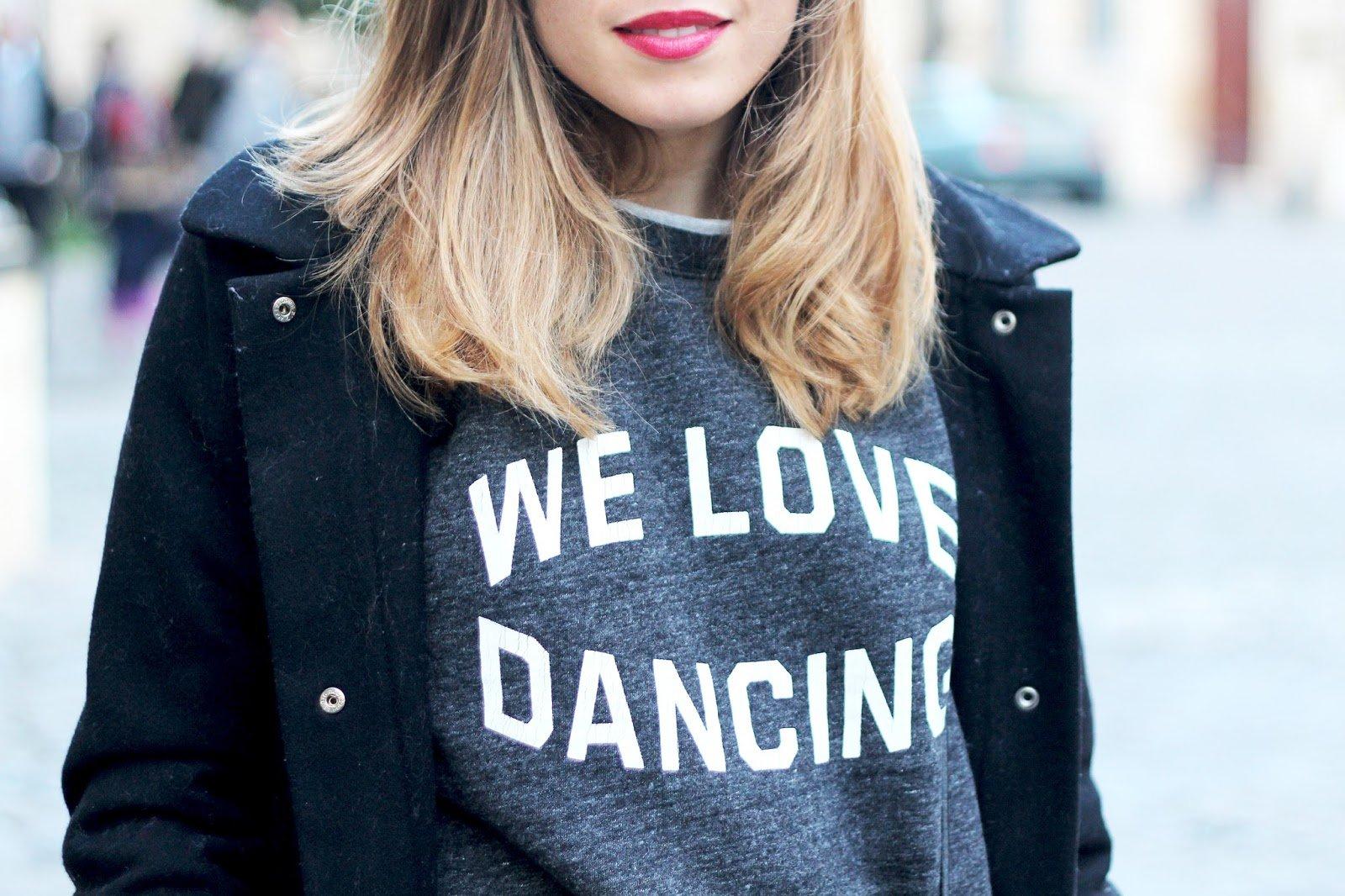 sweat we love dancing