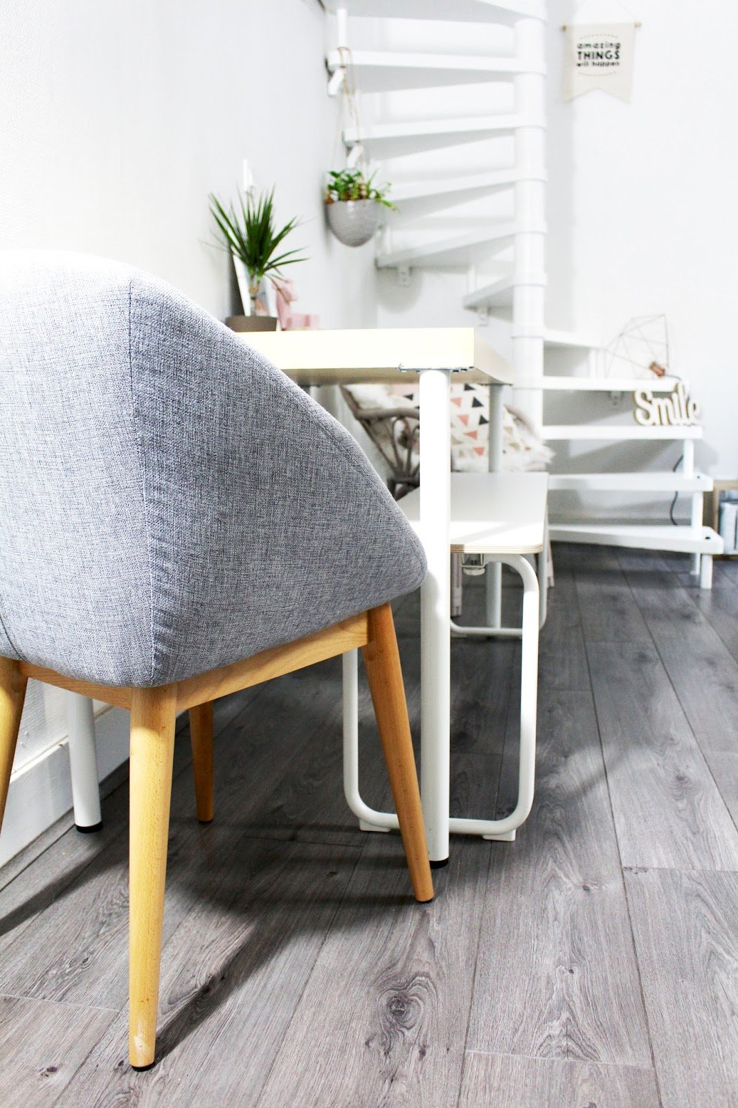 fauteuil de table scandinave