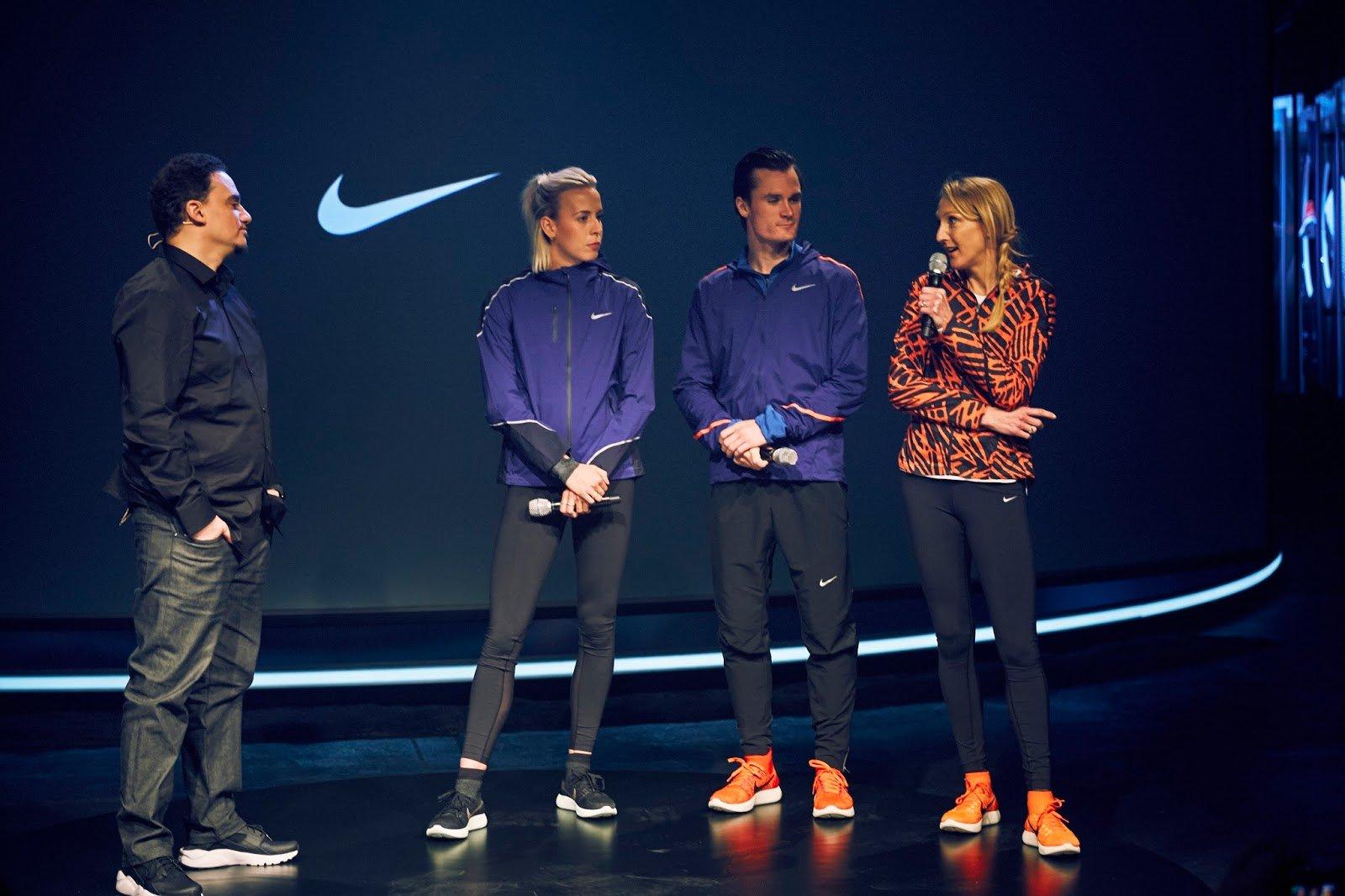 Athlètes Nike
