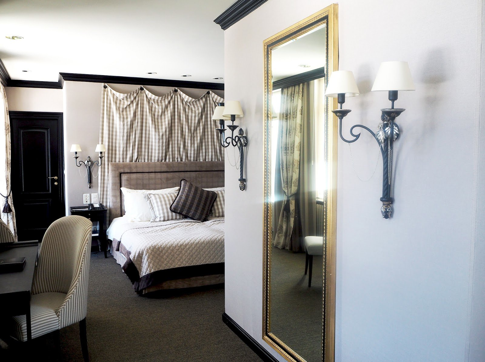 Gstaad Palace chambre