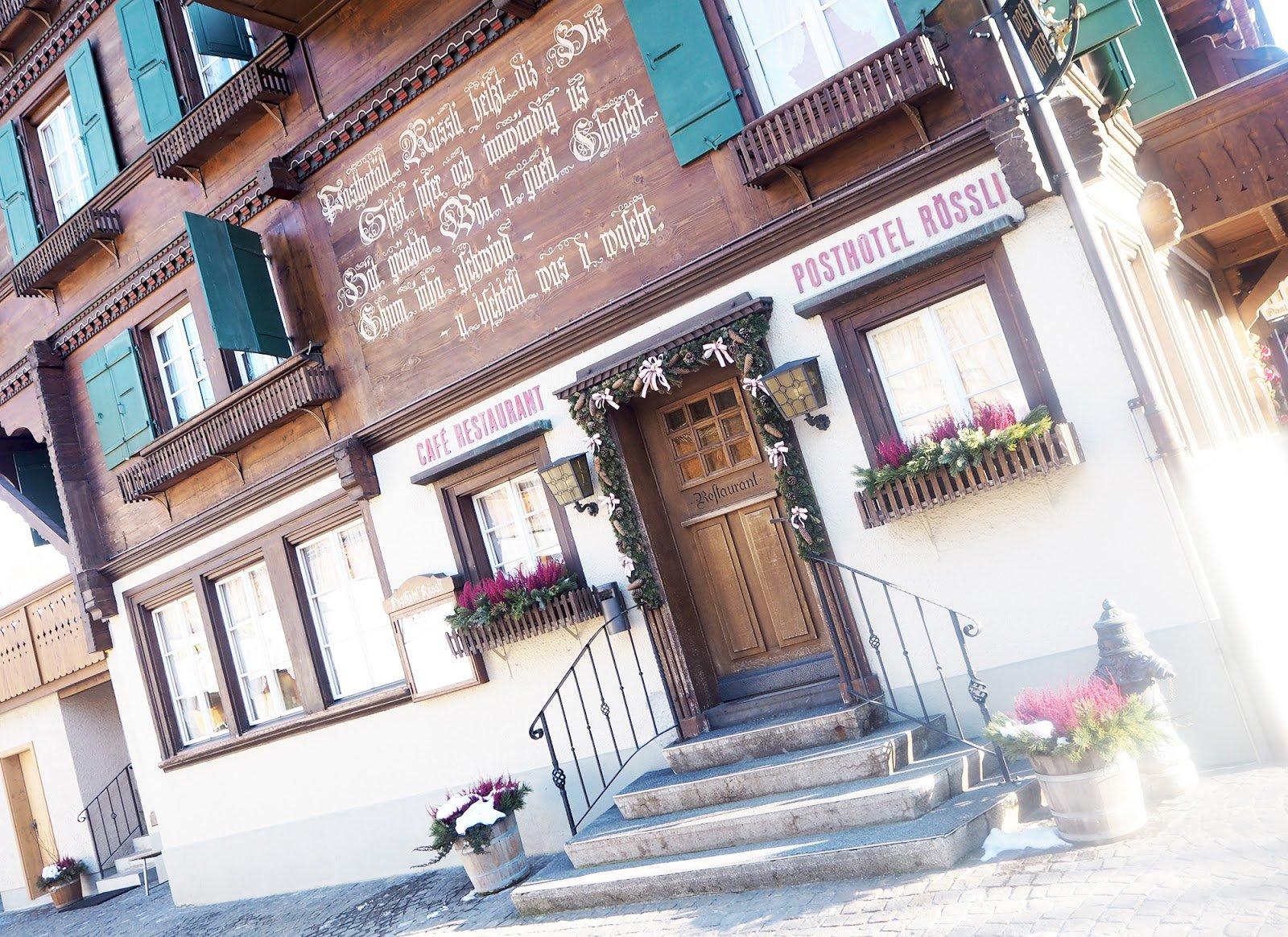 Gstaad ville