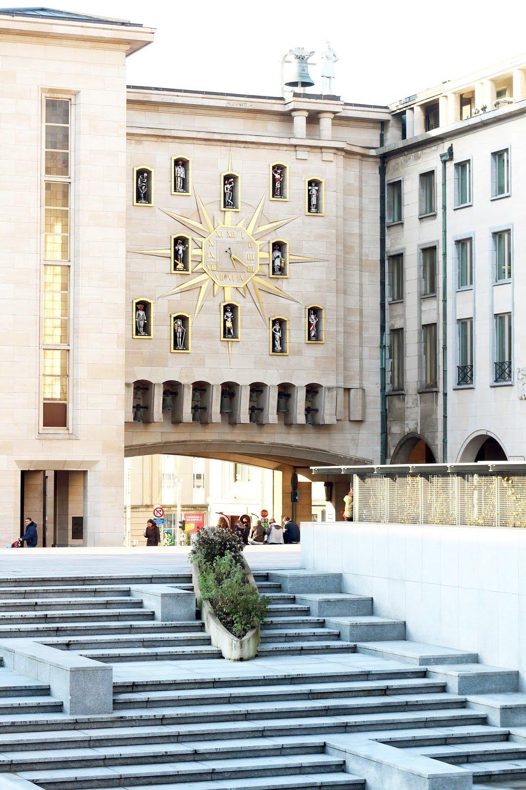 Bruxelles horloge europe