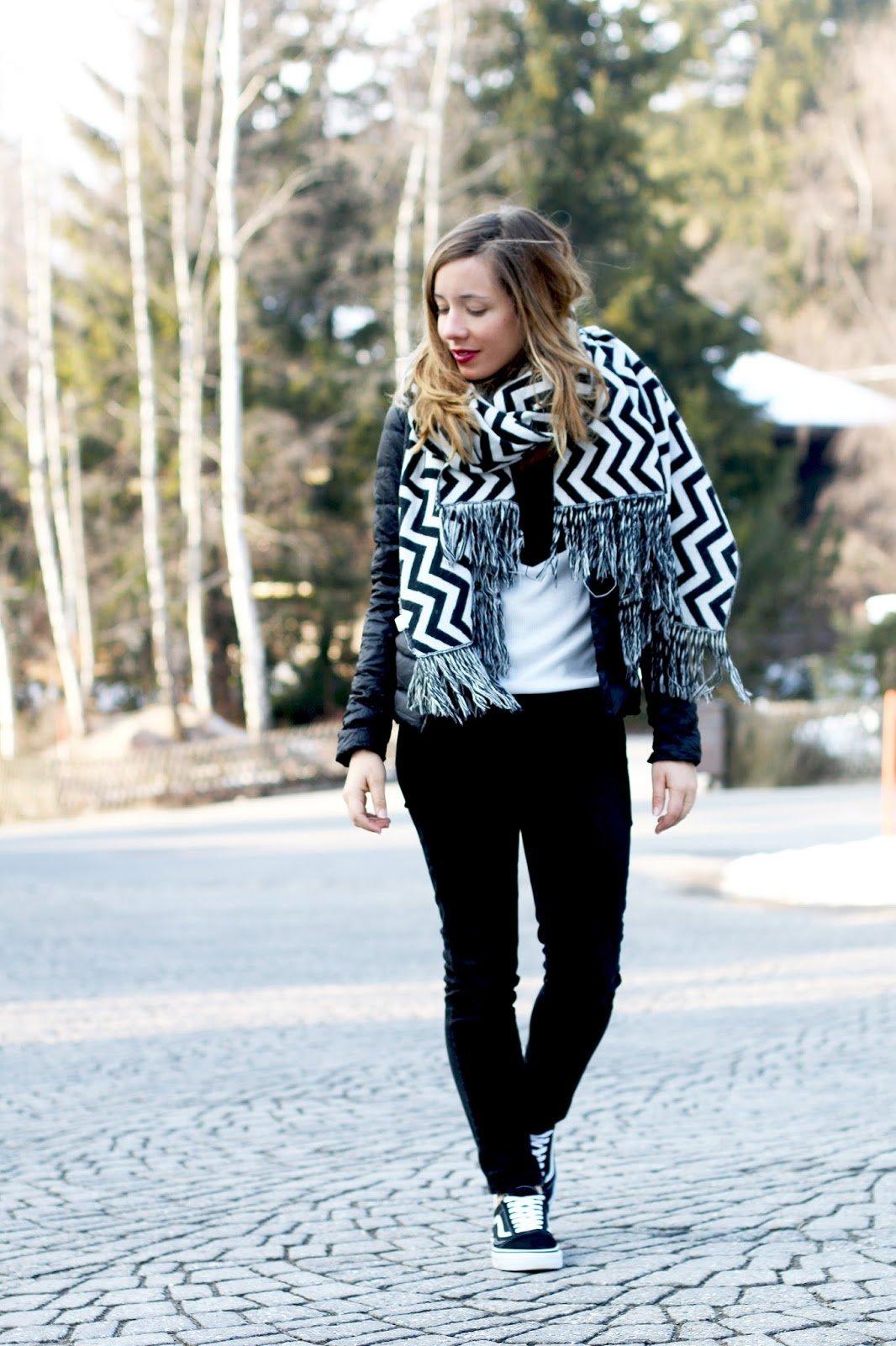 blog mode tenue noir blanc