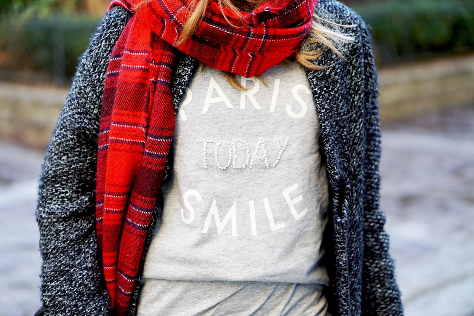 paris today smile