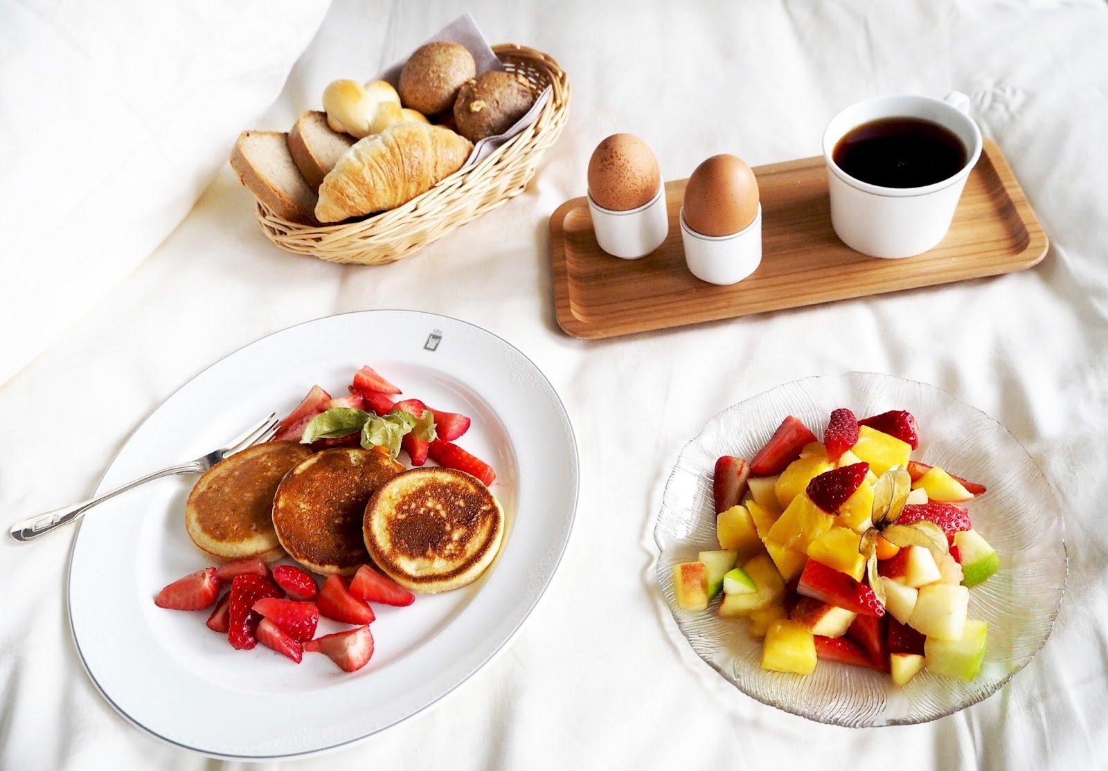Petit déjeuner hotel