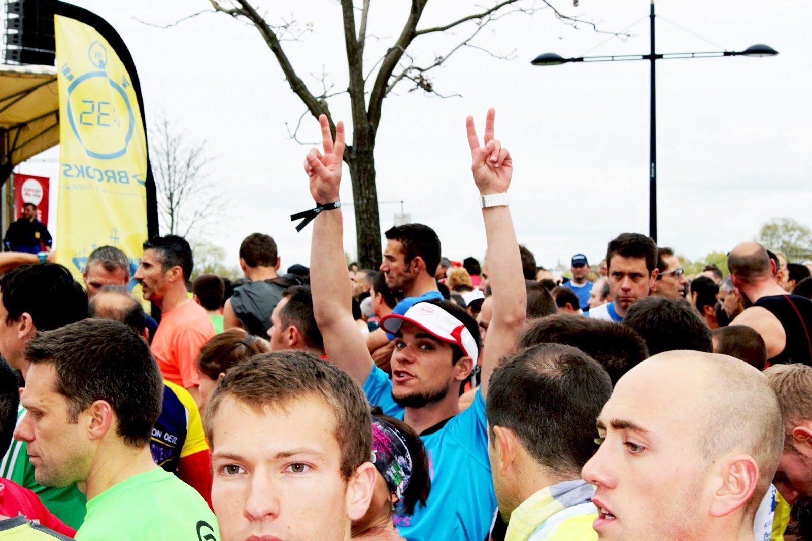 SAS départ marathon bordeaux