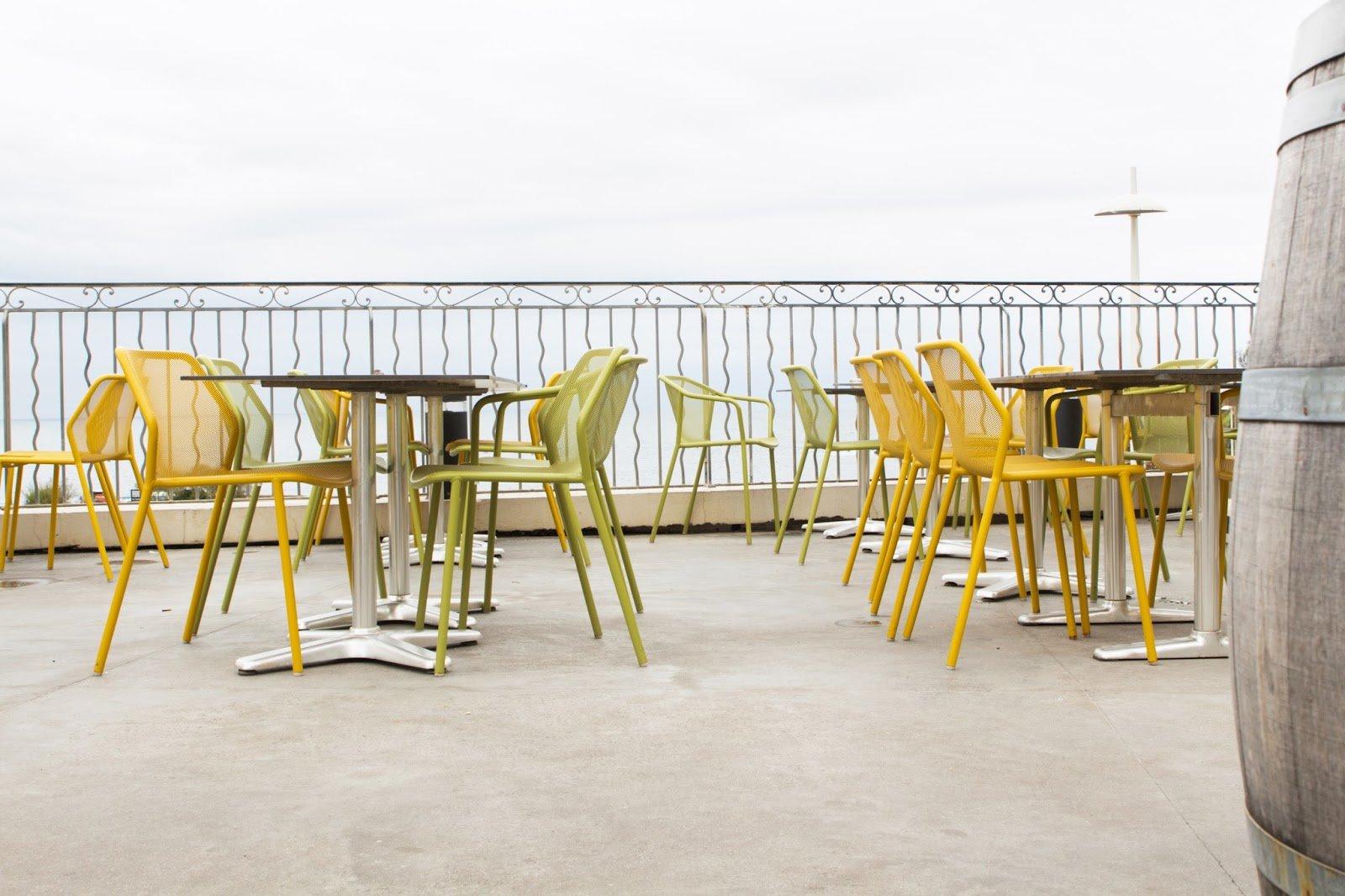 Les Baigneuses bar terrasse