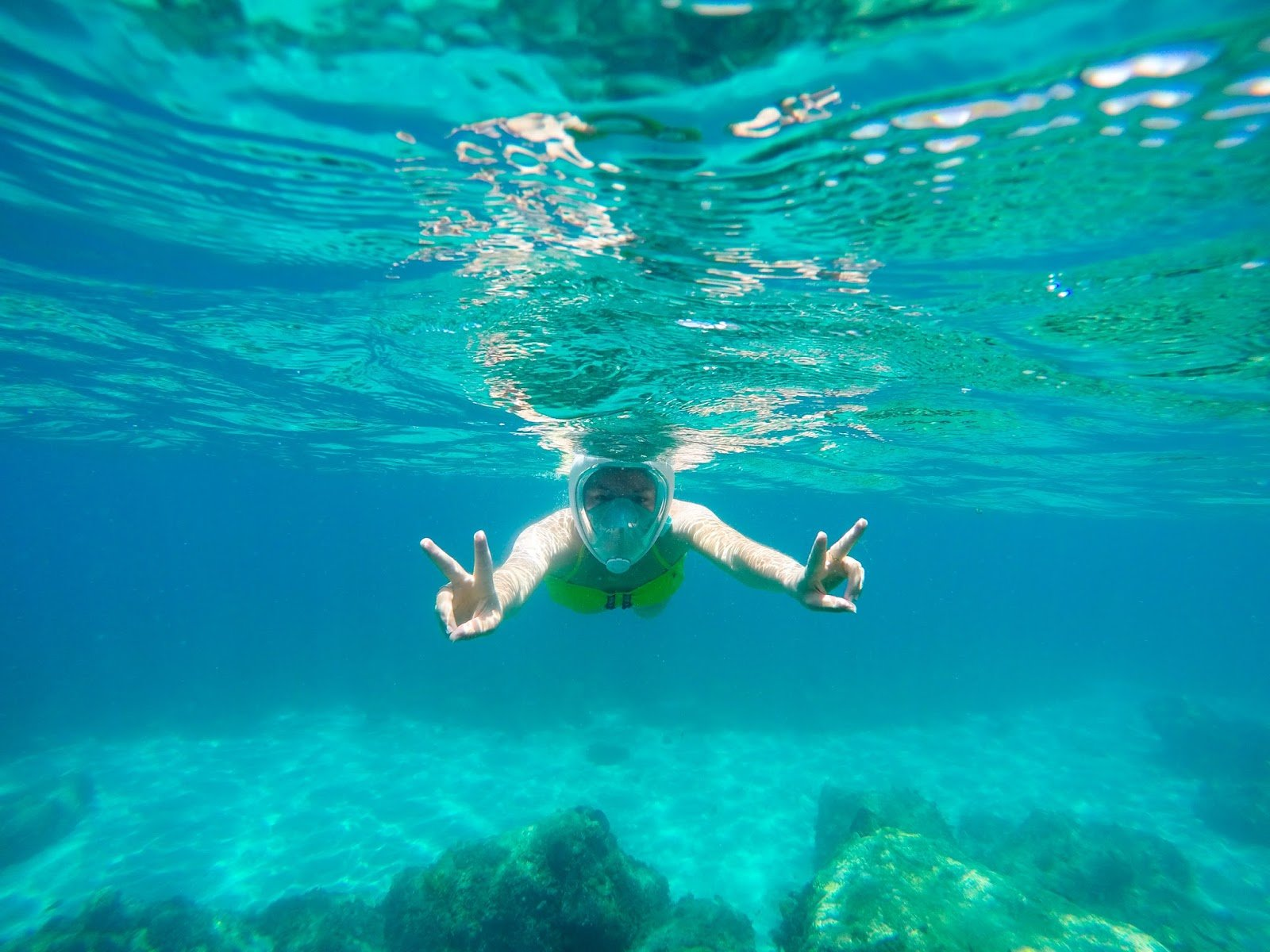 Martinique snorkelling