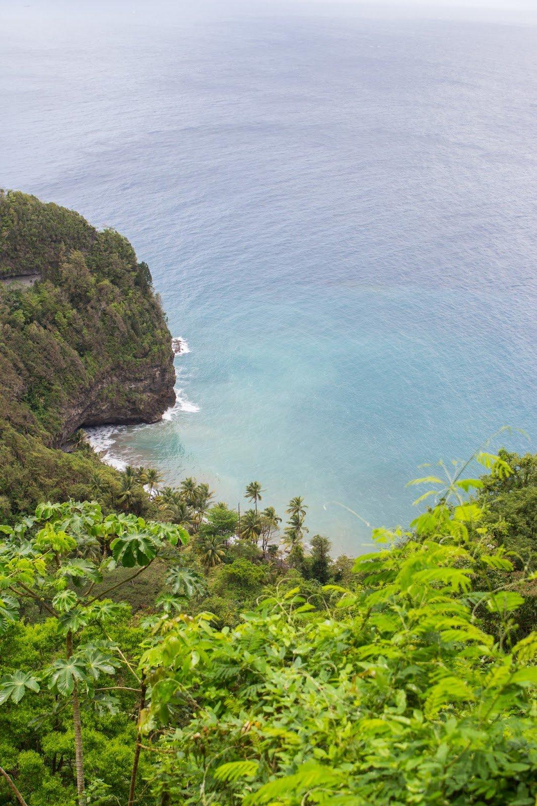 Anse Couleuvre Grand Rivière Nord de la Martinique