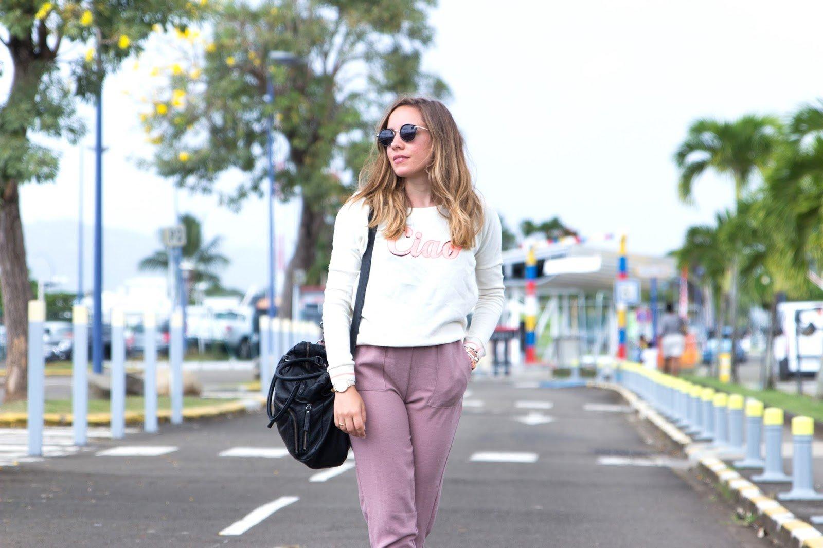 Tenue pour prendre l'avion blog mode lifestyle